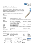 T/LL350 Series Fuel Level Sensor Datasheet