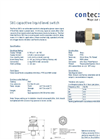 S81 Capacitive Liquid Level Switch Datasheet