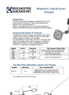 Magnetic Liquid-Level Gauges Datasheet
