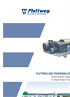 Flottweg - Model OSE - Thickening Centrifuges - Brochure