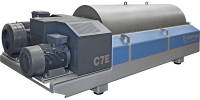 Flottweg - Model C7E - Decanter Centrifuge for Wastewater and Sewage Sludge