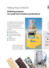 KAHL Pelleting Presses for Small and Medium Productions - Brochure