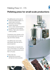 KAHL Pelleting Press for Small Scale Productions - Brochure