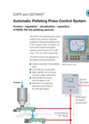 KAHL - EAPR and DISTAMAT - Automatic Pelleting Press Control System - Brochure