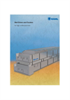 KAHL Belt Driers and Coolers - Brochure