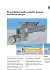 KAHL Proportioning and Conveying Screws in Modular Design - Brochure