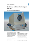 KAHL - Type WZ - Continuous Cellular Wheel Weighers - Brochure