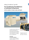 KAHL - Type MK - Mixing Conditioner - Brochure
