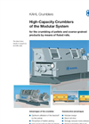 KAHL - High-Capacity Crumblers of the Modular System - Brochure