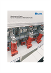 KAHL - Machines and Plants for the Production of Alternative Fuels - Brochure