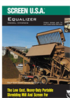 SCREEN USA - Model HM35D2 - For Loader Buckets Up To 3 Cubic Yards Brochure
