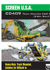 SCREEN USA - CD409 - For Loader Buckets Between 1 And 3 Cubic Yards Brochure