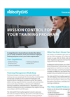 Training Tracking Software - Brochure