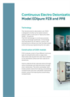 EDIpure - Model PZ8 and PP8 - Continuous Electro Deionization Unit - Brochure