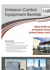 Emission Control Equipment Rentals - Brochure