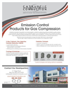 Emission Control Products for Gas Compression - Brochure