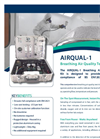 a1-cbiss - AIRQUAL-1 - Breathing Air Quality Test Kit Datasheet