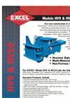 Model EX62 & EX63 Series - Paper Baler Brochure