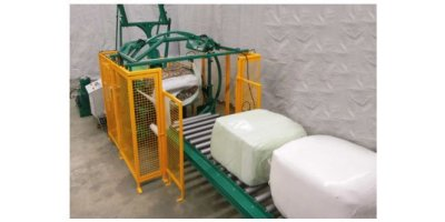 Rotowrap - Model WR4 & WR4+4 - Vertical and Horizontal Bale Wrapping System