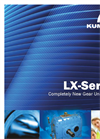 Kumera LX Series One Stage Helical Gearboxes