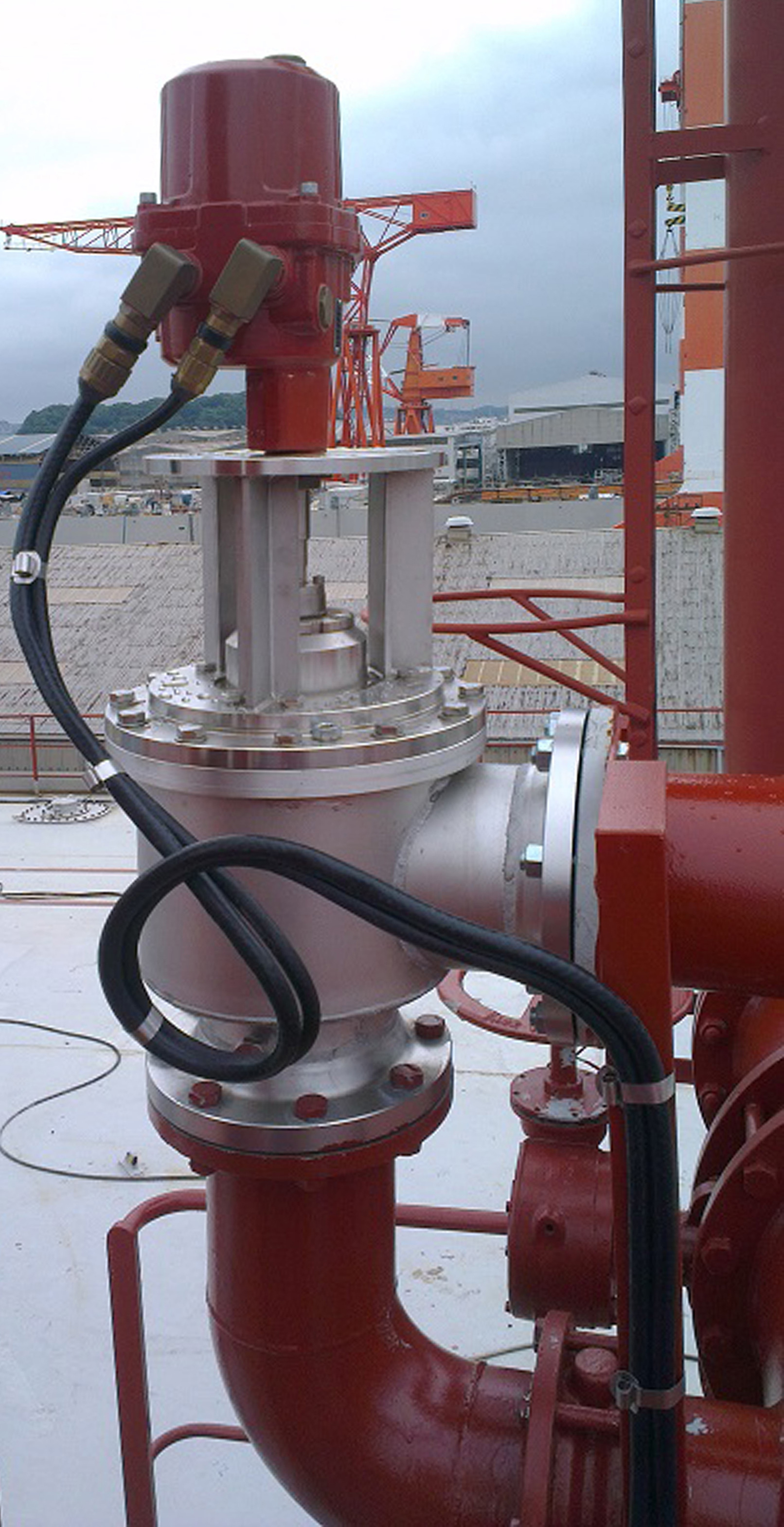 Robust and accurate Rotork valve actuation at the centre of advanced oil tanker VOC emission control system
