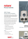 Rotork - Model GPSA Range - Electric Control Valve Actuators - Brochure
