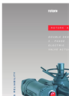 Rotork - A Range - Double Sealed 3 - Phase Electric Valve Actuators - Brochure