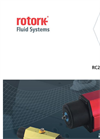 Rotork - RC200 Range - Compact Scotch-Yoke Actuators for Quarter-Turn Valves - Brochure