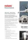 Rotork - SM Series - Heavy Duty Electric Rotary Actuators - Brochure