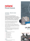 Rotork - LA-2000 Series - Electric Linear Actuators - Brochure