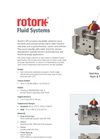 Rotork - GTS Range - Stainless Steel Pneumatic Rack & Pinion Actuators - Brochure