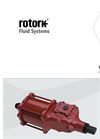 Rotork - Model CP Range - Pneumatic Actuator - Installation, Commissioning and Maintenance Manual