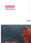 GP &GH Range - Pneumatic and Hydraulic Actuators for Quarter-Turn Valves - Brochure
