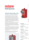 Rotork - Model CQ Range - Compact Quarter-turn Self-Contained Actuators - Brochure