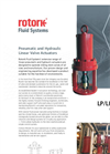 Rotork - Model LP/LH Range - Pneumatic and Hydraulic Linear Valve Actuators - Brochure