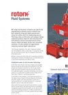 Rotork - Model RH Range - Hydraulic Rack & Pinion Valve Actuators - Brochure