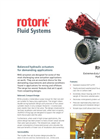 Rotork - RHQ Range - Extreme-Duty Rack and Pinion Hydraulic Actuators - Brochure