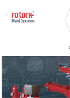 Rotork - Model GO Range - Gas Over Oil Valve Actuators - Brochure