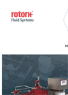 Rotork - Model HPG Range - Direct High-Pressure Gas Valve Actuators - Brochure