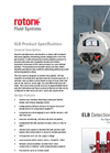 Rotork - Model ELB - Detection System for Pipeline Monitoring and Valve Control - Brochure