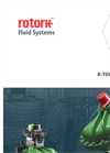 Rotork - Model K-Tork Range - High-Performance Quarter-Turn / Rotary Pneumatic Actuators - Brochure