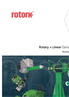 Rotork - Type K Range - Rotary + Linear Damper Drives - Pneumatic and Electric - Brochure