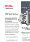 Rotork - Twin Power Range - Multi-Turn Fluid Power Actuators - Brochure