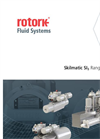 Rotork - Model Skilmatic SI3 Range - Spring-Return and Double-Acting Self-Contained Electro-Hydraulic Actuators - Brochure