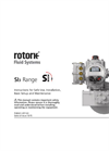 Rotork - Model Skilmatic SI3 Range - Spring-Return and Double-Acting Self-Contained Electro-Hydraulic Actuators - Manual