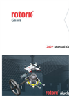 Rotork - Model 242P - Manual Gearboxes
