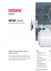 Rotork - MOW Series - Modulating Worm Gearbox - Brochure