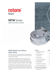 Rotork - Model MTW Series - Multi-Turn Worm Gearboxes - Brochure
