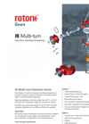 Rotork - Model IB Series - Multi-Turn Cast Iron Housing Gearboxes - Brochure