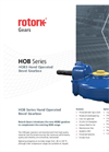 HOB Series - HOB3 Hand Operated Bevel Gearbox - Brochure